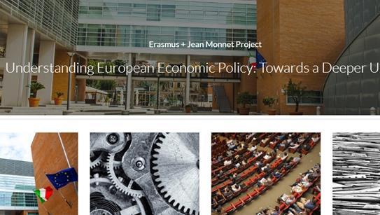 """è online il sito del progetto """"Understanding European Economic Policy: Towards a Deeper Union"""