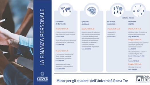 Minor di finanza personale per gli studenti universitari