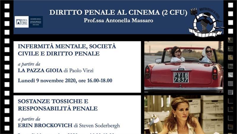 Diritto penale al cinema (2 CFU) - Prof.ssa Antonella Massaro