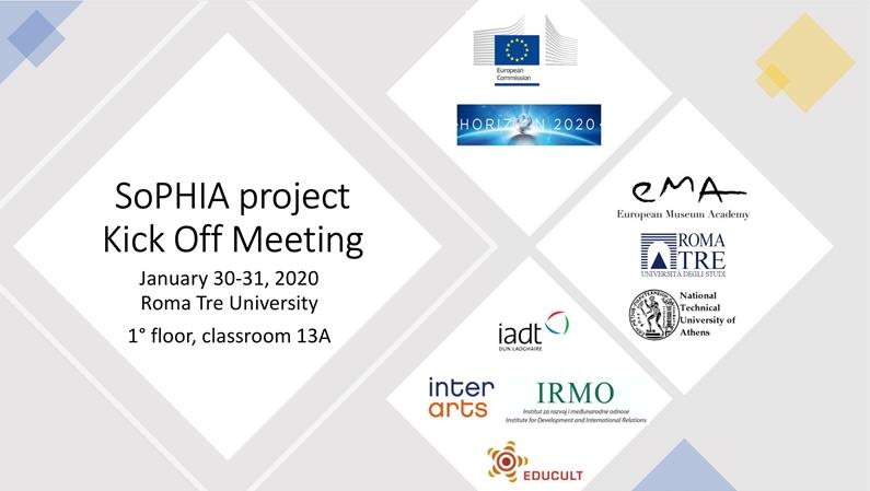 SoPHIA Project Kick Off Meeting