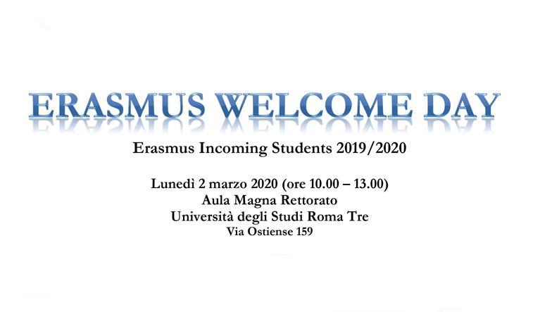 Erasmus Welcome Day