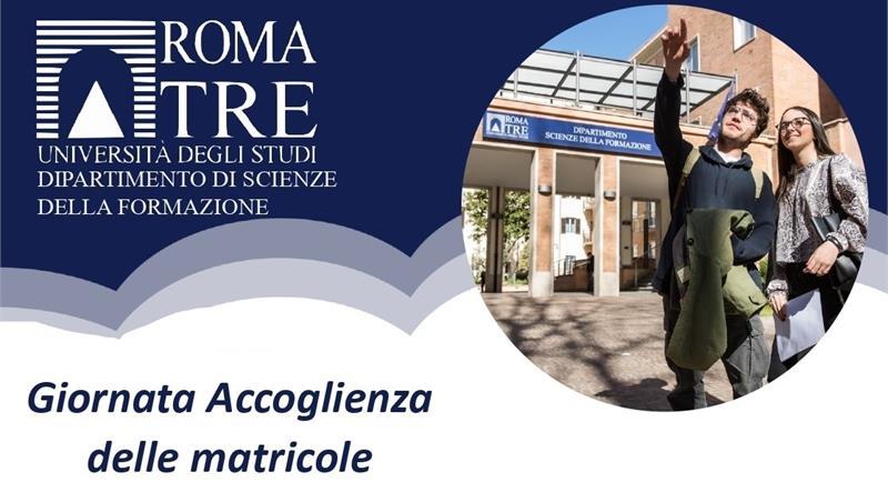 Giornata di accoglienza delle matricole a.a. 2021/22 Dipartimento di Scienze della Formazione - Edunido 01 ottobre 2021