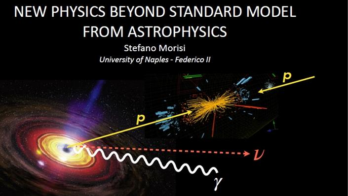 New Physics beyond Standard Model from Astrophysics