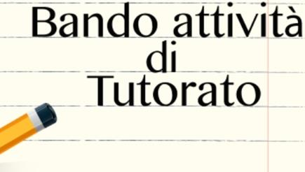 Bando (N°1) per attività di tutorato AA20-21