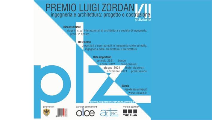 Premio Luigi Zordan per laureati Ingegneria Civile