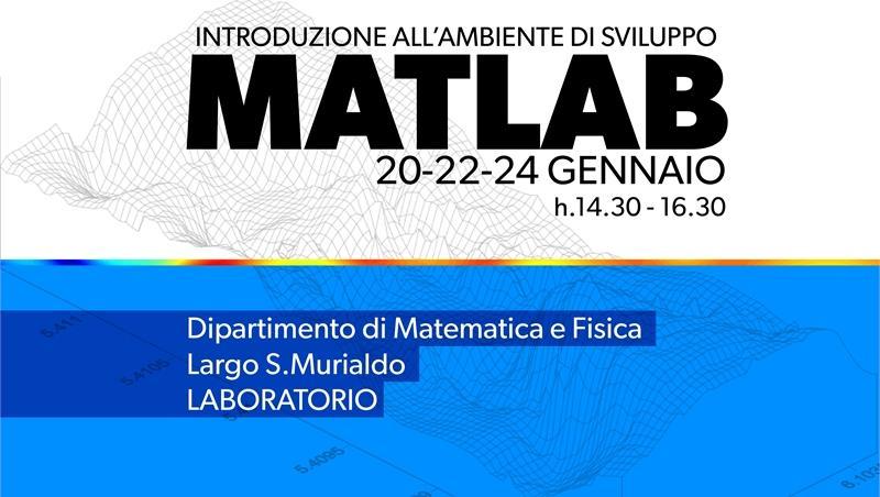 MatLab: Introduzione all'ambiente di sviluppo