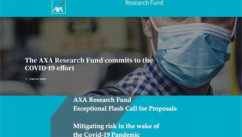 AXA Finanziamento Progetti di Ricerca -Call for Proposals: Mitigating risk in the wake of the Covid-19 Pandemic