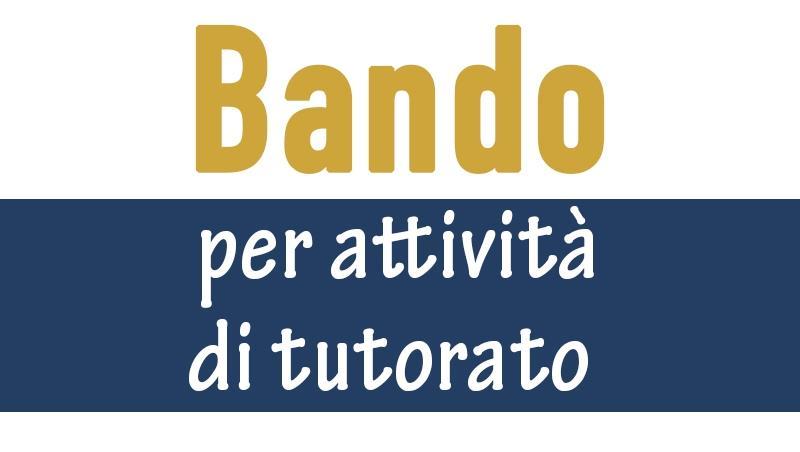 Bando per attività di tutorato presso gli istituti penitenziari della Regione Lazio
