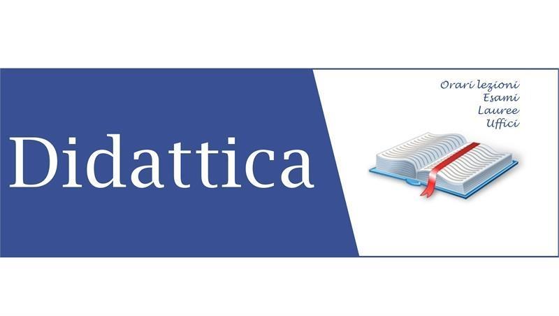 Attività formative Prof.ssa Antonella Massaro - secondo semestre