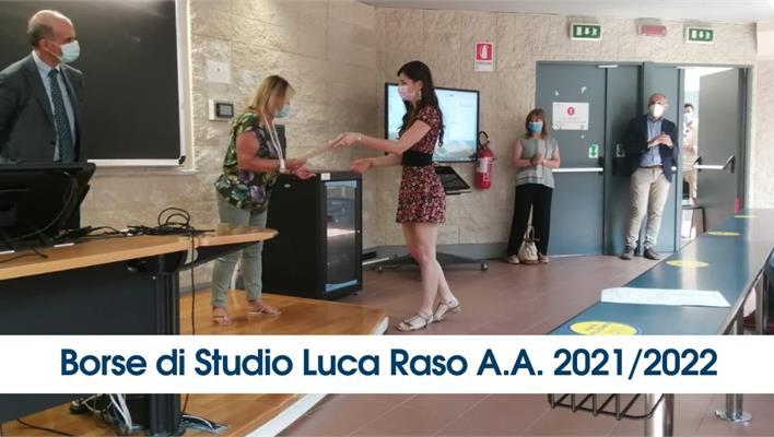 Borsa di Studio Luca Raso A.A. 2021/2022