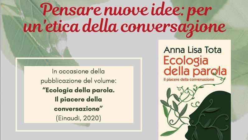 Pensare nuove idee: per un'etica della conversazione