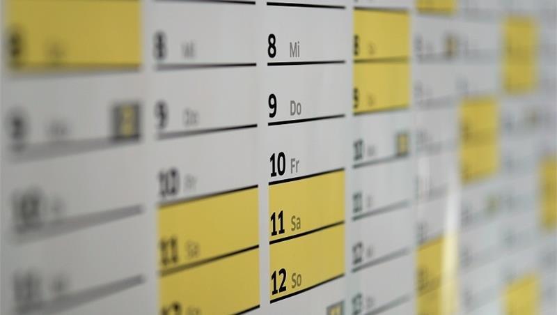 Orario per il Primo Semestre dell'anno accademico 2020-2021