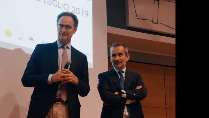 Il Rettore Pietromarchi e il Sottosegretario Manzella al morning show