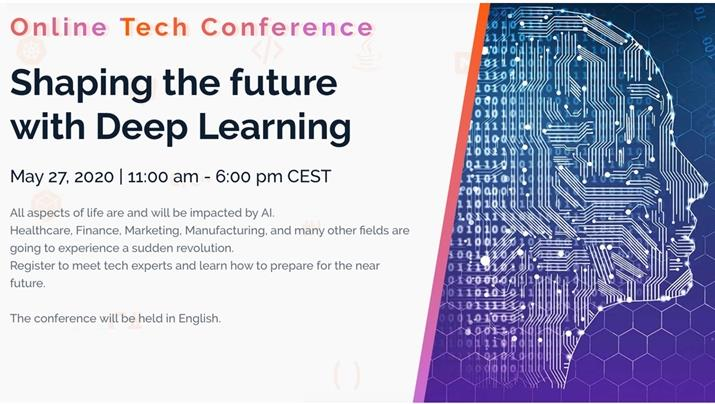 Codemotion Online Tech Conference: Shaping the future with Deep Learning