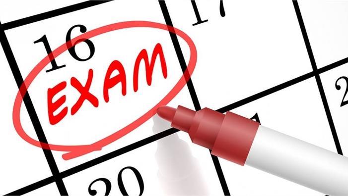 Calendario esami sessione invernale