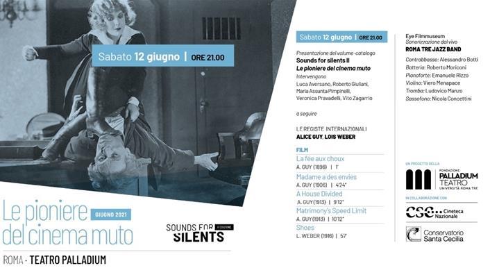 Sounds for Silents - Teatro Palladium