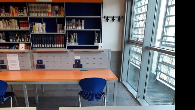 Nuovo sistema prenotazione posto lettura in biblioteca