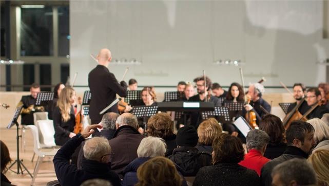 Roma Tre Orchestra con Luisa Sello al flauto