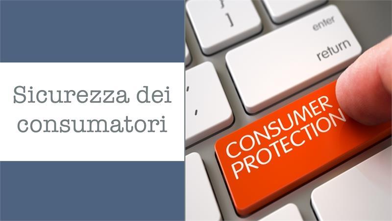 Avviso lezioni Sicurezza dei consumatori prof. Di Majo (corso Servizi giuridici per la sicurezza territoriale e informatica)