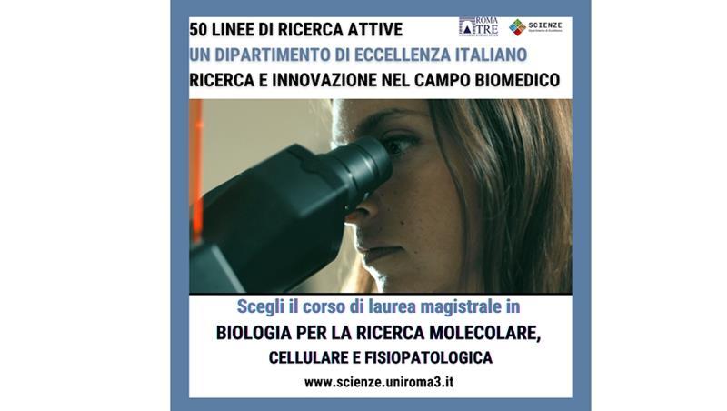 Il Corso di Laurea in Biologia per la ricerca molecolare, cellulare e fisiopatologica. Presentazione Video
