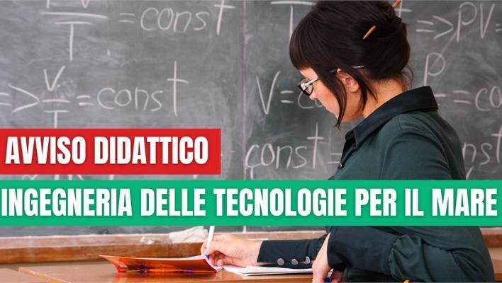 Inizio lezioni Scienza e Tecnologia dei Materiali