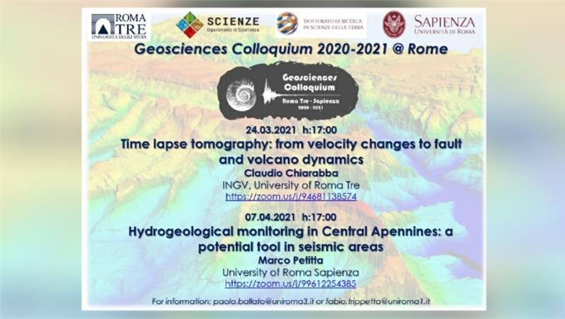 I Colloqui di Geoscienze