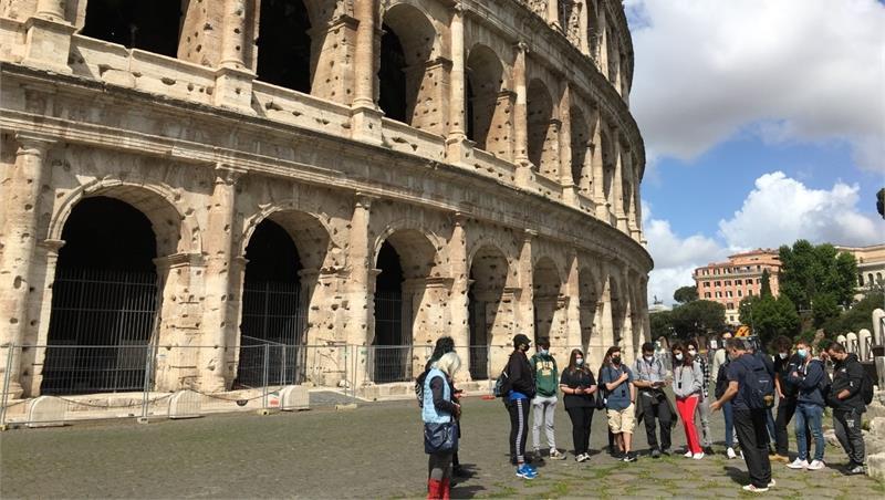 Itinerario geologico nel centro storico di Roma