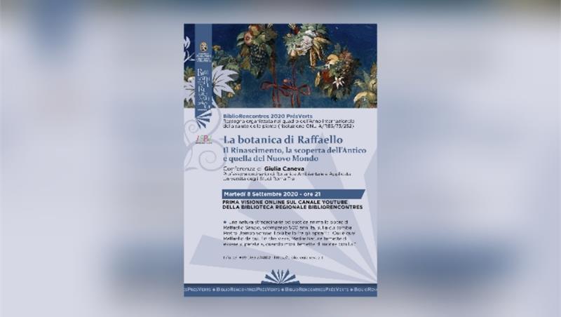La botanica di Raffaello: il Rinascimento, la scoperta dell'Antico e quella del Nuovo Mondo