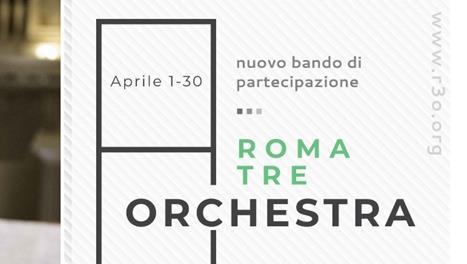 Roma Tre Orchestra: Bando di partecipazione alla scuola di formazione orchestrale per allievi e tutor