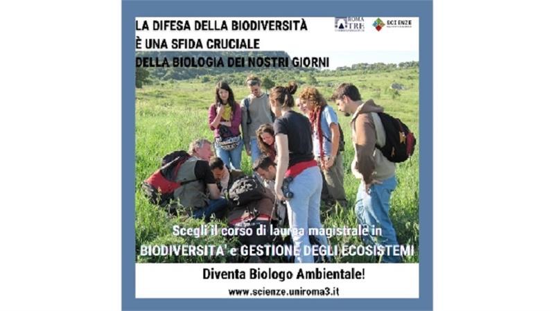 Il corso di laurea magistrale in Biodiversità e Gestione degli Ecosistemi. Presentazione video