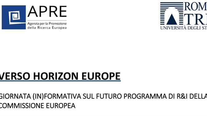 Verso Horizon Europe – Giornata (in)formativa sul futuro programma di R&I della Commissione Europea