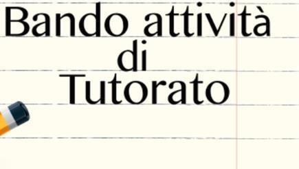 GRADUATORIA - Bando (N°3) per attività di tutorato AA20-21