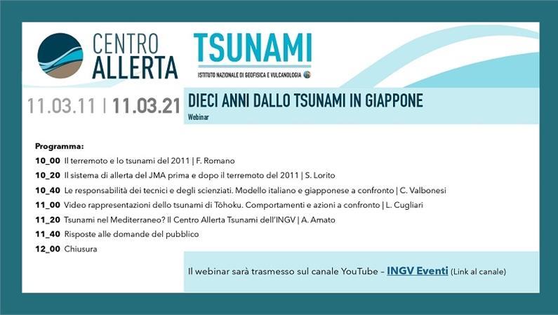 11 marzo 201/11 marzo 2021: dieci anni dallo tsunami in Giappone