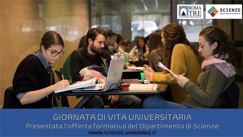 GVU2021: Presentata l'offerta formativa del Dipartimento di Scienze