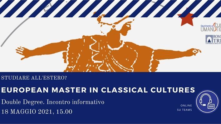 European Master in Classical Cultures (EMCC). Presentazione del doppio titolo