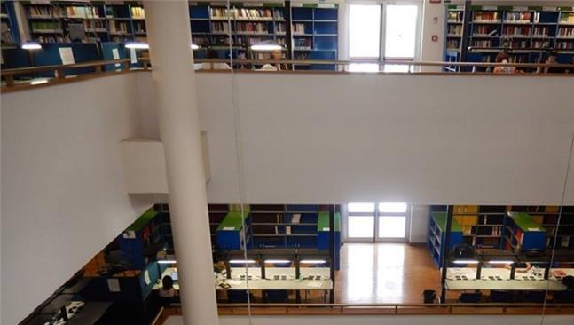 Riapertura delle sale lettura della biblioteca con prenotazione del posto