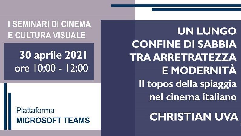 Seminari di Cinema e Cultura Visuale