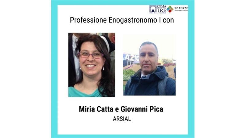 Professione Enogastronomo I con Miria Catta e Giovanni Pica (ARSIAL)