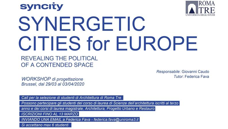 Syncity - Synergetic Cities for Europe