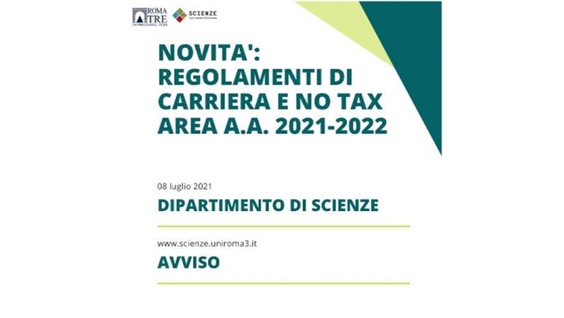 Novità: riforma del part-time, tasse e no tax area per l'a.a. 2021-2022