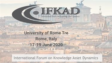 Knowledge in Digital Age - International Forum on Knowledge Asset Dynamics (IFKAD)