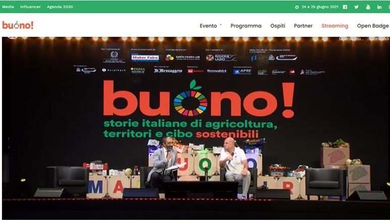 """Il prof. Fabio Bruni a """"Buono!"""""""