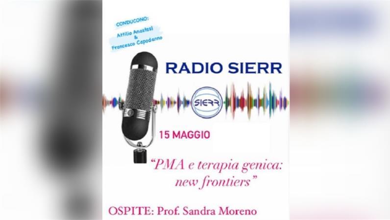 Intervista della prof.ssa Sandra Moreno intervistata a Radio Sierr