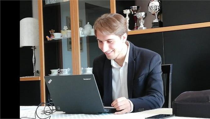 Laurea telematica: Luca Gemin, neodottore del corso di laurea in Scienze Geologiche