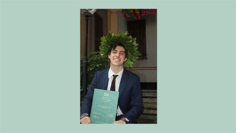 Congratulazioni a Valerio Renzoni, neolaureato in Scienze Biologiche!