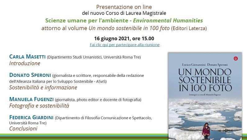 Scienze Umane per l'ambiente – Environmental Humanities