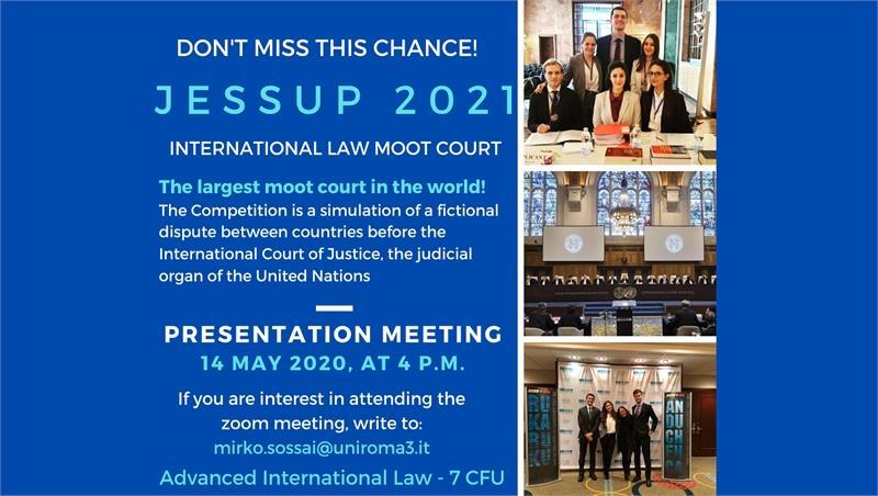 Jessup: presentation meeting