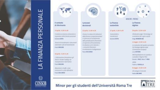 La digitalizzazione nei mercati finanziari - CORSO CONSOB - ROMA TRE