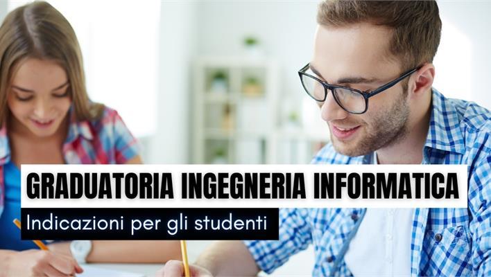 Graduatoria Ingegneria Informatica