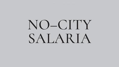 Esposizione NO–CITY SALARIA
